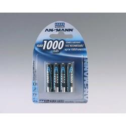 Ansmann NiMH Micro AAA 1000 - 2 blister
