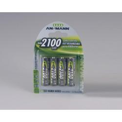 Ansmann NiMH Mignon AA 2100 - 4 blister