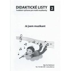 Didaktické listy k sešitu Hudební výchova pro malé muzikanty 2