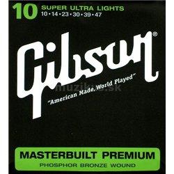 GIBSON Masterbuilt premium phosphor bronze MB10