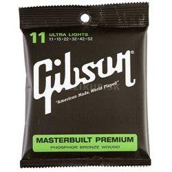 GIBSON Masterbuilt premium phosphor bronze MB11