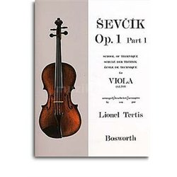 MS Sevcik Viola Studies: School Of Technique Part 1