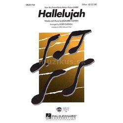 MS Leonard Cohen: Hallelujah (Shrek) - 2-Part