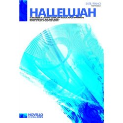 MS Leonard Cohen: Hallelujah (SATB/Piano)