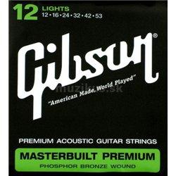 GIBSON Masterbuilt premium phosphor bronze MB12