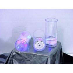 LED poháre 14 cm, 3 ks