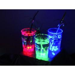 LED poháre 11,5 cm, 3 ks