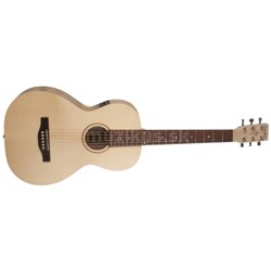 SIMON &amp PATRICK Trek Natural Solid Spruce Parlor SG Isyst