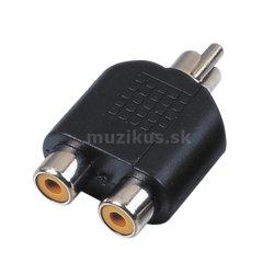 RELOOP Adaptor 2x RCA F / RCA M