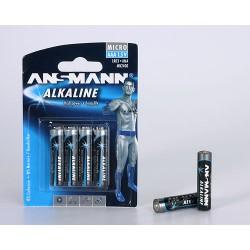 Ansmann Alkaline Micro AAA - 4 blister