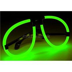 Light&Glow Svítící brýle zelená