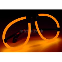 Light&Glow Svítící brýle oranžová