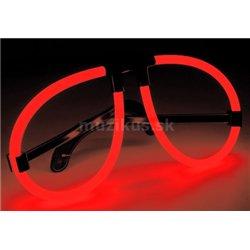 Light&Glow Svítící brýle červená