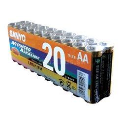 Sanyo Baterie AA R6 alkaline 20ks