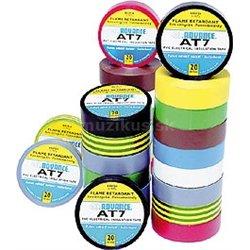 Advance AT07 PVC izol. páska oranžová