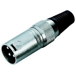 Adam Hall XLR Male 3-pin 7848
