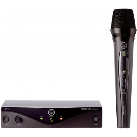 AKG Perception WMS45 Wireless Vocal Set - M (826.300-831.200 MHz)