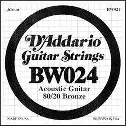 D'ADDARIO BW024 80/20 Bronze - .024