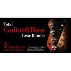 IK MULTIMEDIA TOTAL Guitar&Bass UG