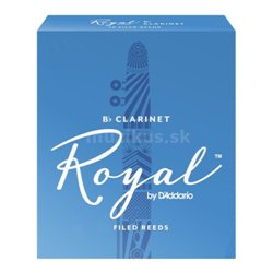 RICO RCB1015 Royal - Bb Clarinet Reed 1.5 - 1 ks