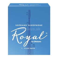 RICO RIB1025 Royal - Soprano Saxophone Reed 2.5 - 1 ks