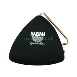 SABIAN 61140-6, BLACK ZIPPERED TRIANGLE BAG