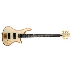SCHECTER Stiletto Custom 5, Rosewood Fingerboard - Natural