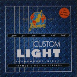 FRAMUS BLUE LABEL STRINGS 45210 CL - Custom Light