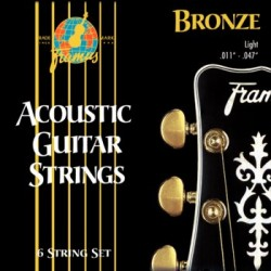 Framus 48220 M BRONZE ACOUSTIC STRINGS