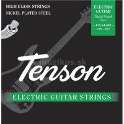 Struny pro E-kytaru Tenson nikl