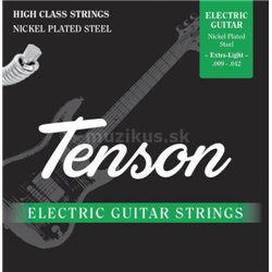 GEWApure Struny pro E-kytaru Tenson nikl .009-.046, Extra Light Regular Bottom Sada+