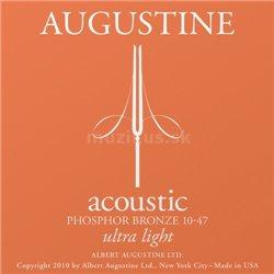 Augustine Augustine struny pro akustickou kytaru Fosforečná bronz