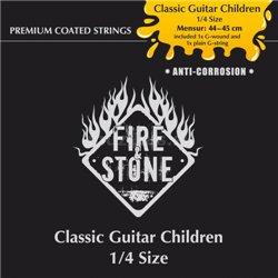 Fire&Stone Struny pro Klasickou kytaru Dětská gitara-sada
