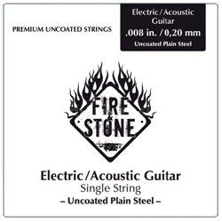 Fire&Stone Struny pro akustickou kytaru Jednotlivé struny