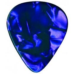Dimavery Plektrum 0,46mm Perleffekt viol., 12 ks v balení