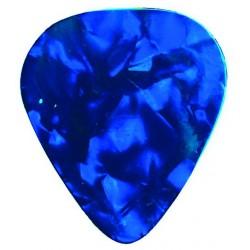 Dimavery Plektrum 0,71mm Perleffekt modrý, 12ks v balení