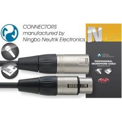 Stagg NMC1XX, kábel XLR/XLR, 1m