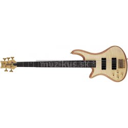 SCHECTER Stiletto Custom 5 LH Natural Satin