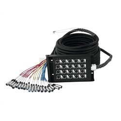 Multicore kábel sa Stage boxom 16 IN/4 OUT XLR, 30 m
