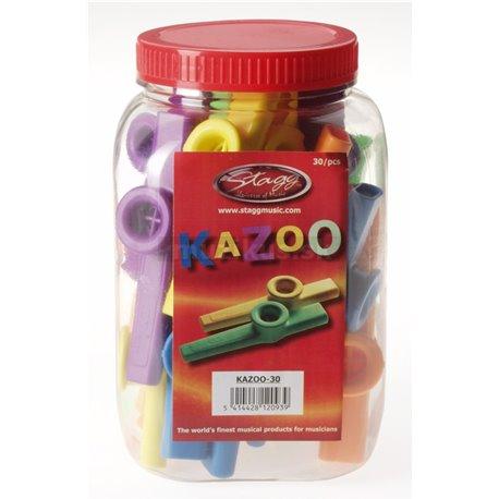Stagg KAZOO-30 ks v balení