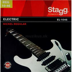 Stagg EL-1046, sada strun