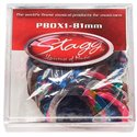 Stagg PBOX1-81, krabice trsátok 100ks, 0.81mm