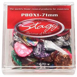 Stagg PBOX1-71, krabice trsátok 100ks, 0.71mm
