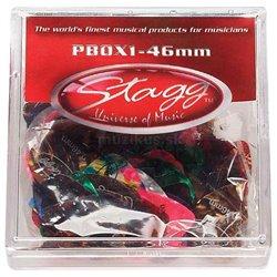 Stagg PBOX1-46, krabice trsátek 100ks, 0.46mm