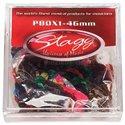 Stagg PBOX1-46, krabice trsátok 100ks, 0.46mm
