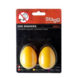 Stagg EGG-2 YW, pár vajíčok, žlté