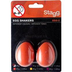 Stagg EGG-2 OR, pár vajíček, oranžové
