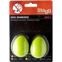 Stagg EGG-2 GR, pár vajíčok, zelenej