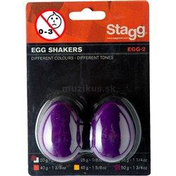 Stagg EGG-2 PP, pár vajíček, purpurové