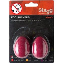 Stagg EGG-2 RD, pár vajíček, červené